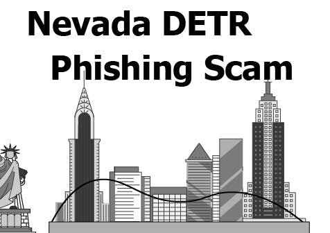 Nevada DETR email phishing scam